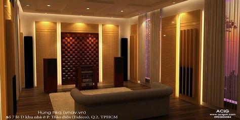Interior - Audio - Music listening room