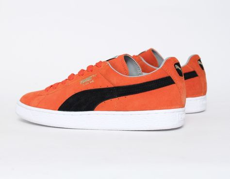 shop for best suitable for men/women shoes for cheap Puma Suede Black Orange | HE, HIM & HIMSELF in 2019 | Black ...