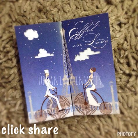 Eiffel in love #paris #eiffeltower themed #invitation Got any questions? E-mail us inquiry.urbanistainvites@gmail.com   #urbanistainvites #invitationsph #wedding #urbanistainvitations #invitationph #igers #engagement  #prenup #weddinginvitationsph #weddinginvitationph #philippineweddings #weddingph #philippinewedding #weddingsmanila #weddingsph  #philippinebride #manilawedding #debut #manilaweddings #weddingsupplierph #weddingprep #bride #weddingexpophilippines