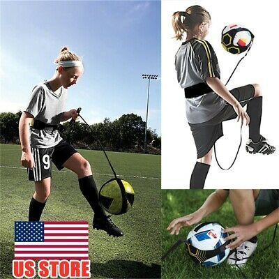 Advertisement Ebay Football Star Kick Football Practice Training Aid Solo Soccer Trainer Returner In 2020 Soccer Training Soccer Training Equipment Football Trainer