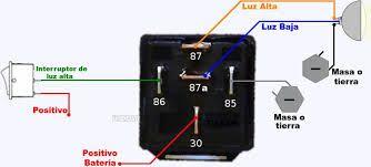 Conectar Rele Bosch 12 Voltios 6 Pines Búsqueda De Google Automotive Repair Automotive Electrical Repair