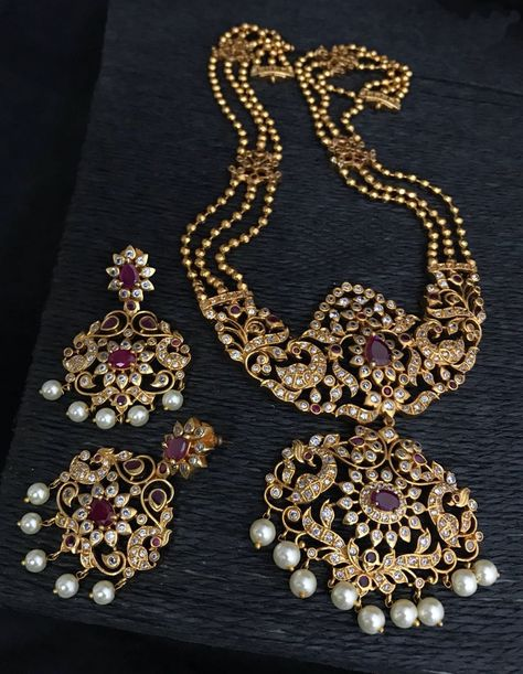 Gold jewelry Indian Modern - - - Rose Gold jewelry Making - -