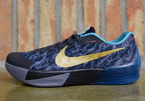Top Quality Nike KD Trey 5 II Cheap sale Rift Blue Bright Mango
