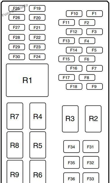 [DIAGRAM] 2001 F 150 Fuse Diagram