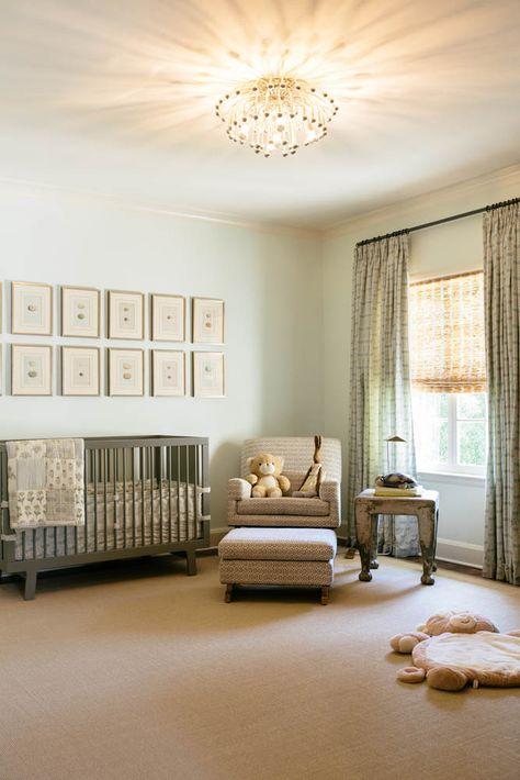 Beautiful nursery from Jean Liu Design! #laylagrayce #nursery