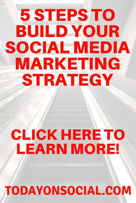 Learn 5 different ways you can build your social media marketing strategy and reach your ultimate business goals. This blog post outlines 5 of the latest social media stories, tips and strategies you can use to be successful as a brand, blogger or small business. Get the online marketing ideas you need to be more successful on social media. More digital marketing tips and tricks available at https://todayonsocial.com  #SocialMedia #Tips #Business #Strategy #Marketing #Blogger #SmallBusiness
