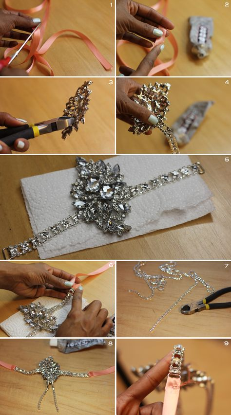 Mood DIY: How to Sew a Patriotic Ruffle Skirt Great Gatsby Headband