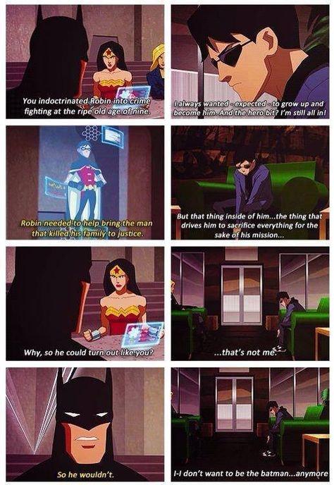 Young Justice: Batman and Robin comparisons | BATMAN AND ROBIN/BRUCE AND DICK BEST FATHER/SON THING EVERRRRRRRR
