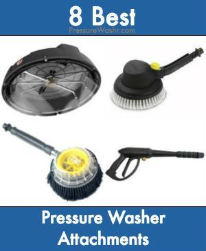 Which Pressure Washer Attachments Improve Its Performance And Cleaning Capacity The Most Faq004 Pressure Washer Pressure Washer Tips