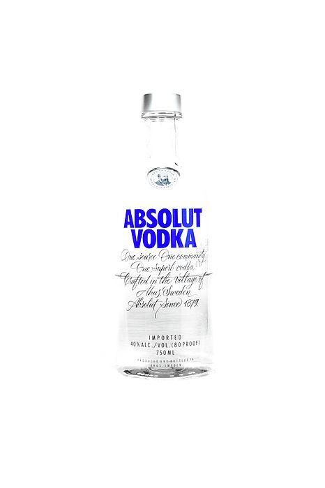 Absolut Vodka Bottle Pop Art Bar Decor Club Party Alcohol