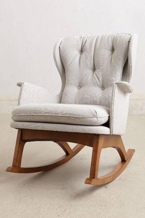 Schommelstoel Voor Mama.Een Schommelstoel Voor De Babykamer Mrs Mama Rocking Chair