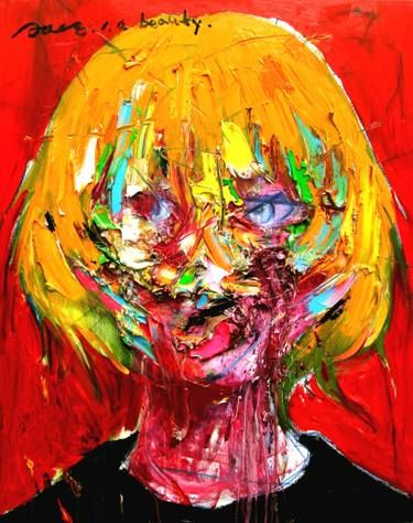 Gyobeom An Art Painting Oil Abstract Expressionism Art Modern Art Paintings