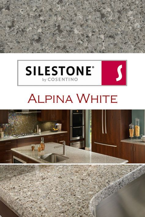 Alpina White By Silestone Is Perfect For A Kitchen Quartz