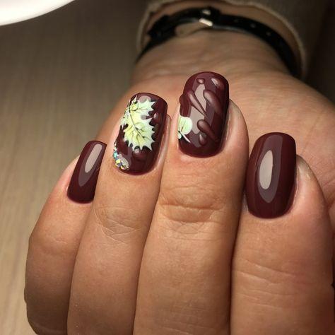 Nail art fall 2019. Art ideas to brighten up the late season