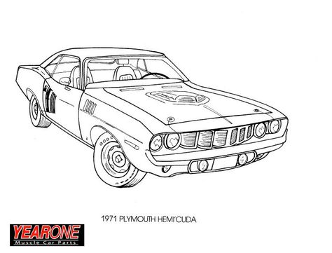 Https Uspcolumns Info Library M Muscle Car Coloring Page Muscle