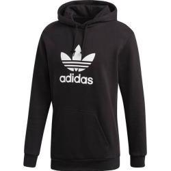 Adidas Herren Trefoil Hoodie, Größe M in Black, Größe M in