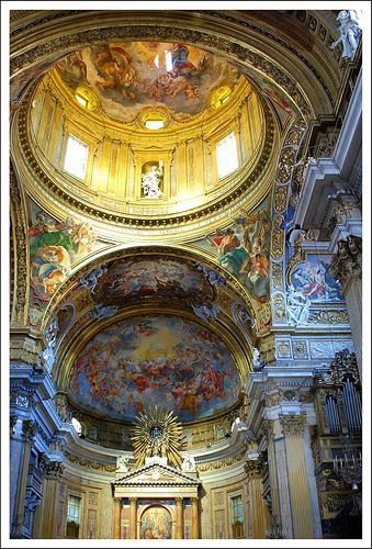 Church of the Gesù     Rome (Italy).  #travel