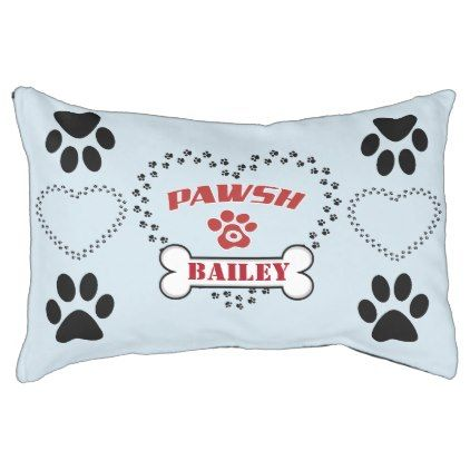 Personalized Pawsh Posh Version 2 0 Pet Bed Zazzle Com Personalized Dog Beds Pets Dog Bed