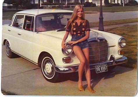 Twitter / HistoryInPics: Mercedes-Benz and owner, 1970's ...