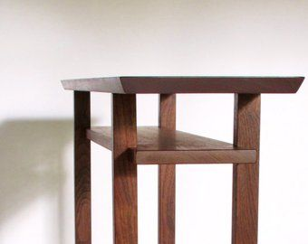Classic Console Table: Narrow Wood Table for Hall, Entryway ...