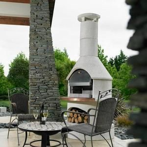Rondo With Pizza Oven Insert Diy Outdoor Fireplace Diy
