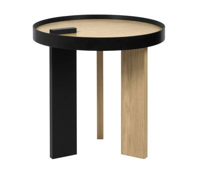 Pop Up Home Tokyo End Table Natural Wood Made In Design Uk Side Table Side Table Wood Side Coffee Table