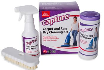 Capture Carpet Rug Dry Cleaning Kit