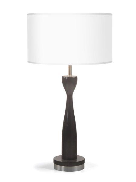 Frip Black Finish Commercial Lighting Wood Table Lamp Seascape Lamps Table Lamp Table Lamp Wood Custom Light Fixtures