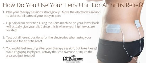 Saying Arthritis Can Cause Discomfort Is An Understatement. Fortunately, Using Your Tens Unit For Arthritis Relief Can Provide You With A Natural Pain Relief Technique.