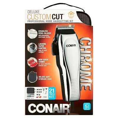 New Conair Deluxecut 21 Piece Haircutting Kit In 2020 Conair Hair Care Products Professional Body Groomer