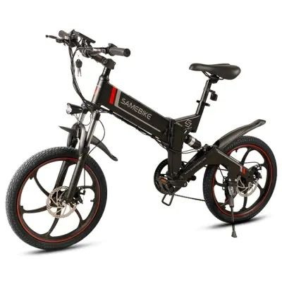 Samebike 20zanche Black Uk Plug Electric Bikes Sale Price