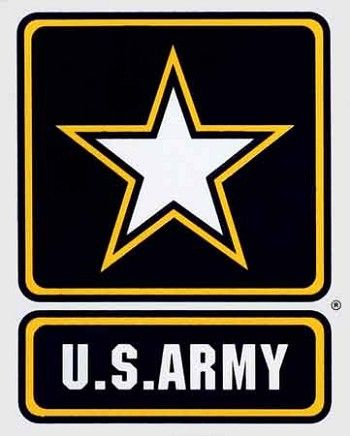 """PAIR US Army RETIRED Emblem 6/"""" Vinyl Vehicle Decal Military Window Stickers"""