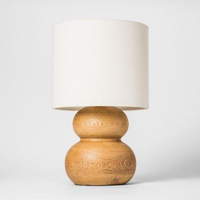 14 5 X 9 Polyresin Pebble Table Lamp Brown White Project 62 Target Table Lamp Lamp Target Home Decor