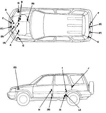 Service Manual Honda Accord 2000