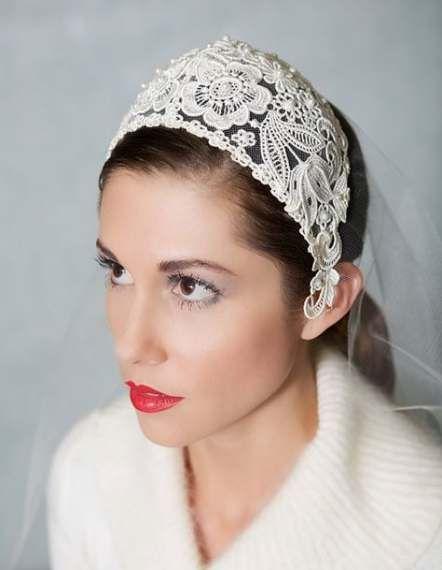 Best Vintage Wedding Headpiece Veil Head Bands Ideas Wedding Headpiece Vintage Bridal Veil Cap Lace Veils Bridal