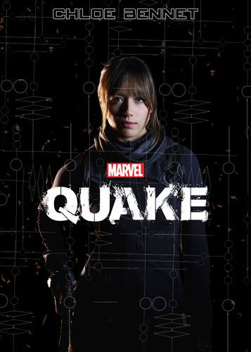 Skye (Agents Of S.H.I.E.L.D) Fan Art: Quake [Fake Movie Poster