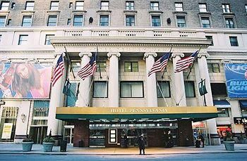 Hotel Pennsylvania New York 401 7th Avenue At 33rd Street New