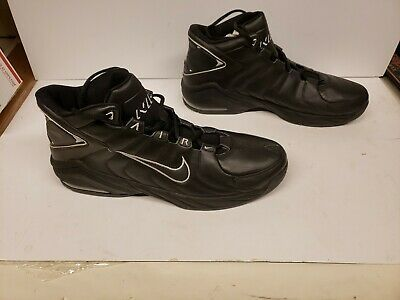 Nike Black Air Uptempo Athletic Shoes Size 16 309951 Fashion