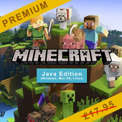 Minecraft pc and mac software