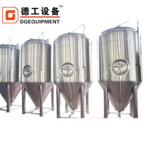 2000l Commercial Used Stainless Steel Glycol Jacket Beer Fermentation Tank Vessel In 2020 Fermentation Polyurethane Insulation Beer