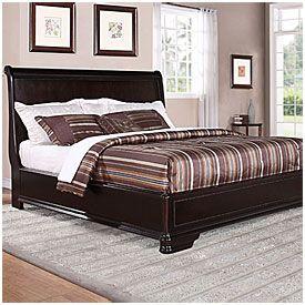 Trent Complete King Bed At Big Lots Furniture Pinterest