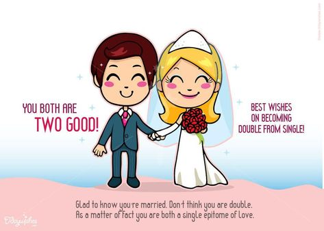 Get Lovely Wedding Congratulations E Cards From Ddaywishes