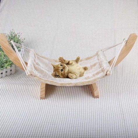 Soft Hammock Bed For My Dogs Cat Hammock Wooden Hammock