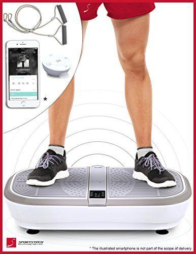 Test Winner Sportstech Professional Vibration Plate Vp300 With 3d Spiral Vibration Technology Running Clothes Women Recumbent Bike Workout Workout Machines