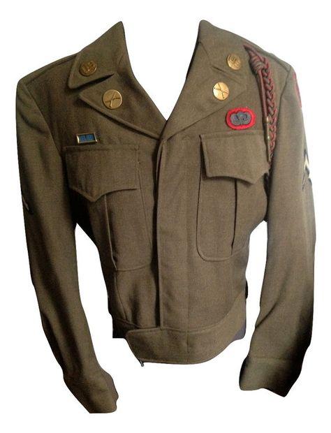 WWII 82nd Airborne Paratrooper Ike Jacket by VelmaVtg on Etsy
