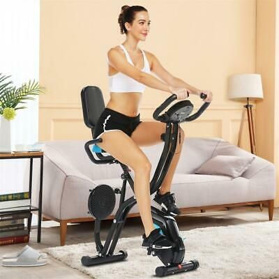 Ad Ebay Link 3 In 1 Fitness Upright Bicycle Folding Workout Exercise Bike Cardio Traine In 2020 Biking Workout Indoor Bike Workouts Recumbent Bike Workout