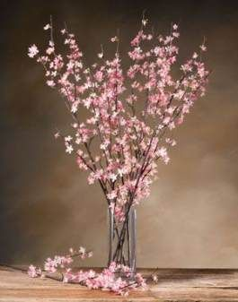 68 Super Ideas Flowers Arrangements For Home Silk Cherry Blossom Decor Cherry Blossom Flowers Amazing Flowers