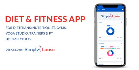 DIET APP & FITNESS APP – FOR DIETITIANS/NUTRITIONIST, GYMS, YOGA STUDIO, TRAINERS BY SIMPLYLOOSE | Codelib App