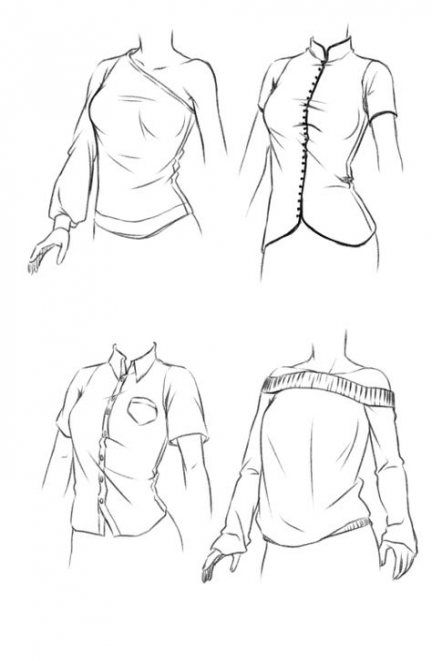 Super Drawing Tutorial Clothes Outfits 58 Ideas Drawing Clothes Manga Clothes Drawing Sketches