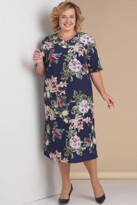 654f859af71 Платье 3031-1 темно-синий